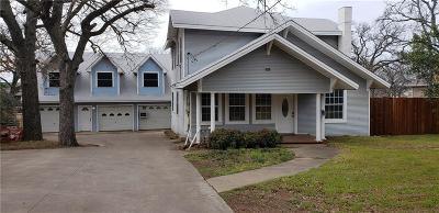 Denton Single Family Home For Sale: 2223 N Locust Street