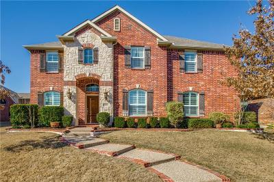 Frisco Single Family Home Active Option Contract: 2526 Brazos Drive