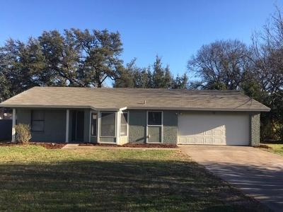 Parker County, Tarrant County, Hood County, Wise County Single Family Home Active Option Contract: 217 Granada Calle Street