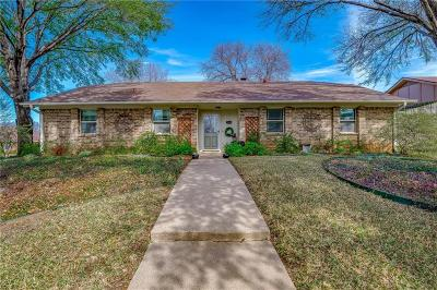 Grapevine Single Family Home Active Option Contract: 2940 Harvest Hill Drive