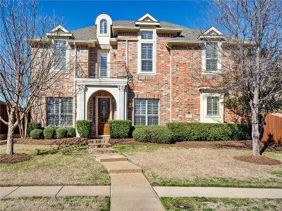 Frisco Single Family Home Active Option Contract: 6525 Hunters Parkway