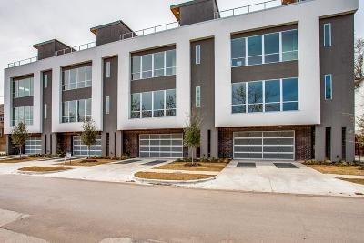 Dallas Townhouse Active Option Contract: 1423 Hubert