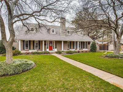 Dallas Single Family Home For Sale: 10929 Candlelight Lane