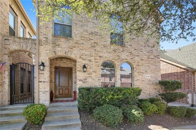 Frisco Townhouse For Sale: 5765 Pisa Lane