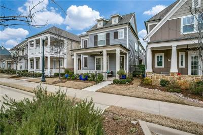 Coppell Single Family Home Active Option Contract: 732 S Coppell Road