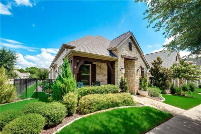 McKinney Single Family Home Active Option Contract: 900 Sacred Way