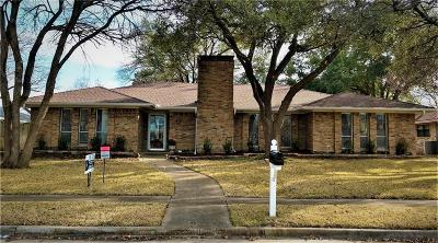 Plano Single Family Home Active Option Contract: 2504 Fairview Drive