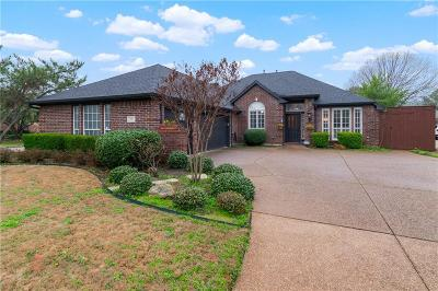 Coppell Single Family Home Active Contingent: 209 Falls Court