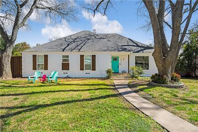 Dallas Single Family Home For Sale: 9834 Ravensway Drive