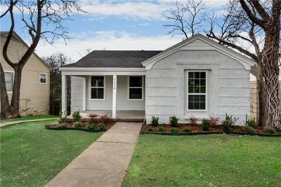 Dallas Single Family Home For Sale: 1419 S Marsalis Avenue