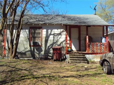 Grand Saline TX Single Family Home For Sale: $15,000
