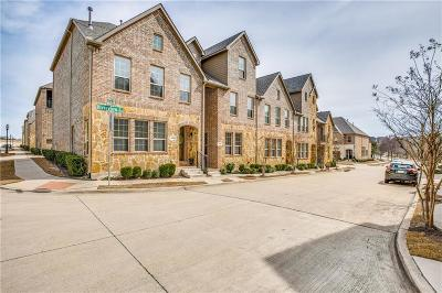 Denton County Townhouse For Sale: 4428 Riverview Drive