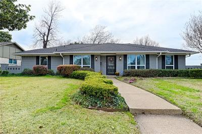 Carrollton Single Family Home Active Contingent: 2800 Lakeside Lane