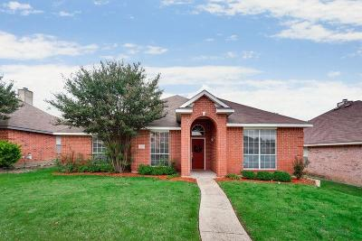 Mesquite Single Family Home For Sale: 1825 Chapman Drive