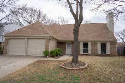 Flower Mound Single Family Home Active Option Contract: 4004 Willow Run