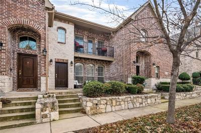Frisco Townhouse For Sale: 6781 Cortona Lane