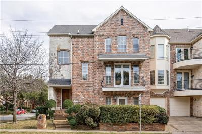 Townhouse For Sale: 3726 Wycliff Avenue