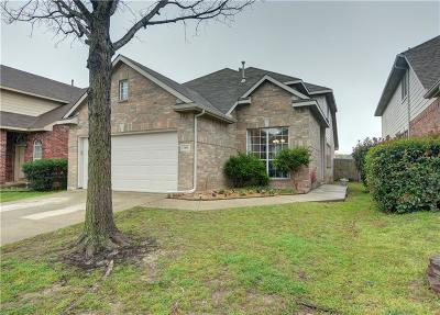Fort Worth Single Family Home Active Option Contract: 5416 Pecan Creek Circle