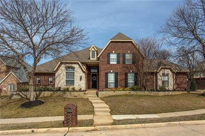 Flower Mound Single Family Home Active Contingent: 3712 Hillsdale Drive