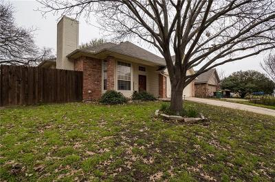 Denton Single Family Home Active Option Contract: 1017 Bayfield Drive