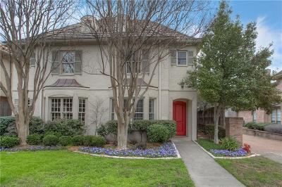 Tarrant County Townhouse For Sale: 1219 Belle Place