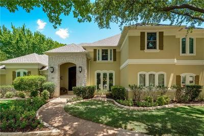 Southlake Single Family Home Active Option Contract: 813 Parkdale Drive