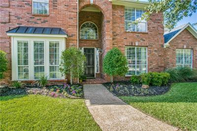 Plano Single Family Home Active Option Contract: 2701 Schofield Court