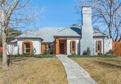 Dallas Single Family Home For Sale: 16834 Hunters Point Drive