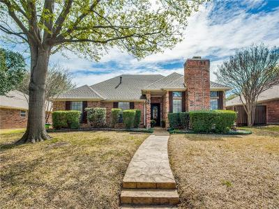 Plano Single Family Home Active Option Contract: 2012 Liverpool Drive
