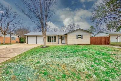 Euless Single Family Home Active Option Contract: 116 W Alexander Lane