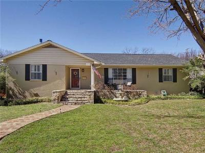Benbrook Single Family Home Active Option Contract: 4116 Springbranch Drive