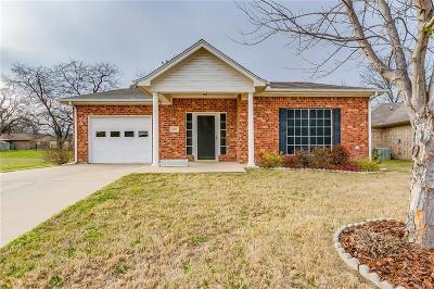 Burleson Single Family Home Active Option Contract: 428 Tinker Trail