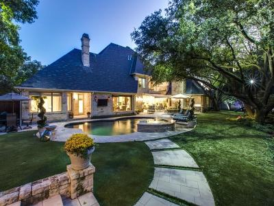 Dallas Single Family Home For Sale: 5319 Bent Tree Drive