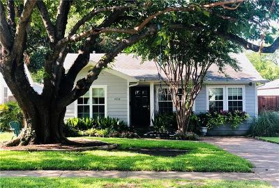 Dallas Single Family Home For Sale: 4914 W Amherst Avenue