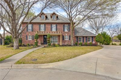 Colleyville Single Family Home Active Option Contract: 3108 River Bend Drive