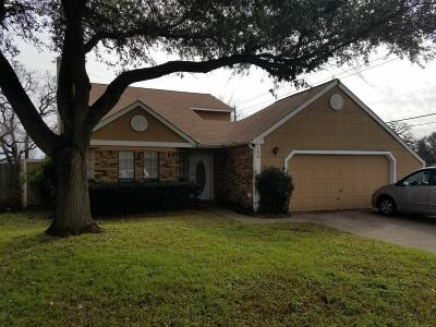 Euless Single Family Home Active Option Contract: 100 Cinnamon Lane