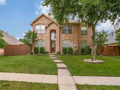 Allen Single Family Home Active Option Contract: 1108 Larkspur Drive