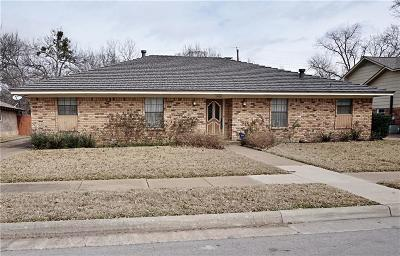 Irving Single Family Home Active Option Contract: 1605 Daywood Lane