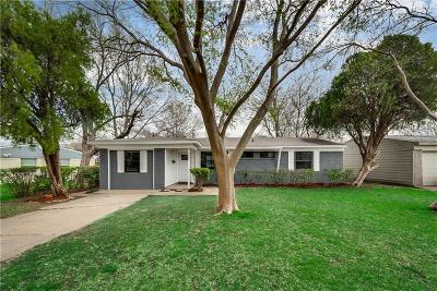 Mesquite Single Family Home For Sale: 4522 Motley Drive