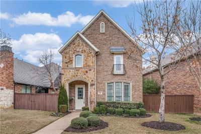 Lewisville Single Family Home Active Option Contract: 241 Carrington Lane