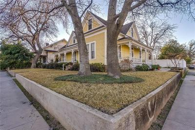 Weatherford Single Family Home For Sale: 110 S Walnut Street