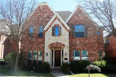 Irving Single Family Home Active Option Contract: 2218 Longview Road