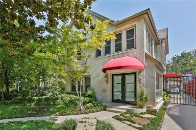 Dallas Single Family Home For Sale: 4334 Rawlins Street