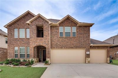 Sachse Single Family Home For Sale: 3513 Thunder Drive