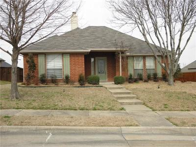 Royse City, Union Valley Single Family Home Active Contingent: 1325 Hunters Glen
