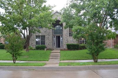 Allen Single Family Home Active Option Contract: 2026 Saint Anne Drive