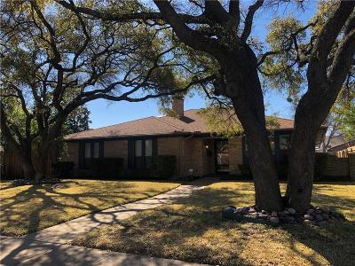 Richardson Single Family Home For Sale: 616 E Spring Valley Road