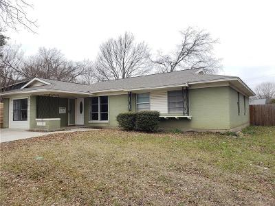 Garland Residential Lease For Lease: 3105 W Walnut Street