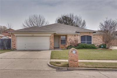 Benbrook Single Family Home Active Option Contract: 7213 Royal Oak Drive
