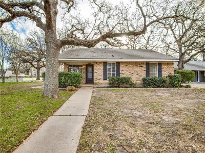 Irving Single Family Home Active Option Contract: 518 Staffordshire Drive